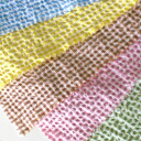 Japan-made salt reduction t/c gingham check fabric (large) 5 colors 02P24Jun11