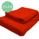 ◆ hard use for high durability bi-passing fiber face towel * red * ◆ Japan-02P24Jun11