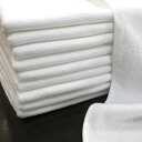 ◆ Professional short pile towels 10 piece set * white * ◆ Japan-02P24Jun11