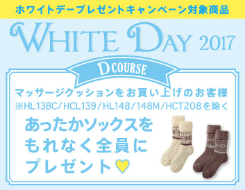2017年ホワイトデーDコース