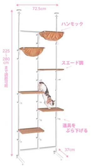 ネコちゃんウォークサイズ
