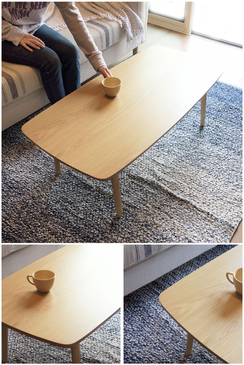 送料無料 テーブル 折りたたみテーブル フォールディングテーブル ローテーブル センターテーブル リビング 北欧  ウォールナット 木製