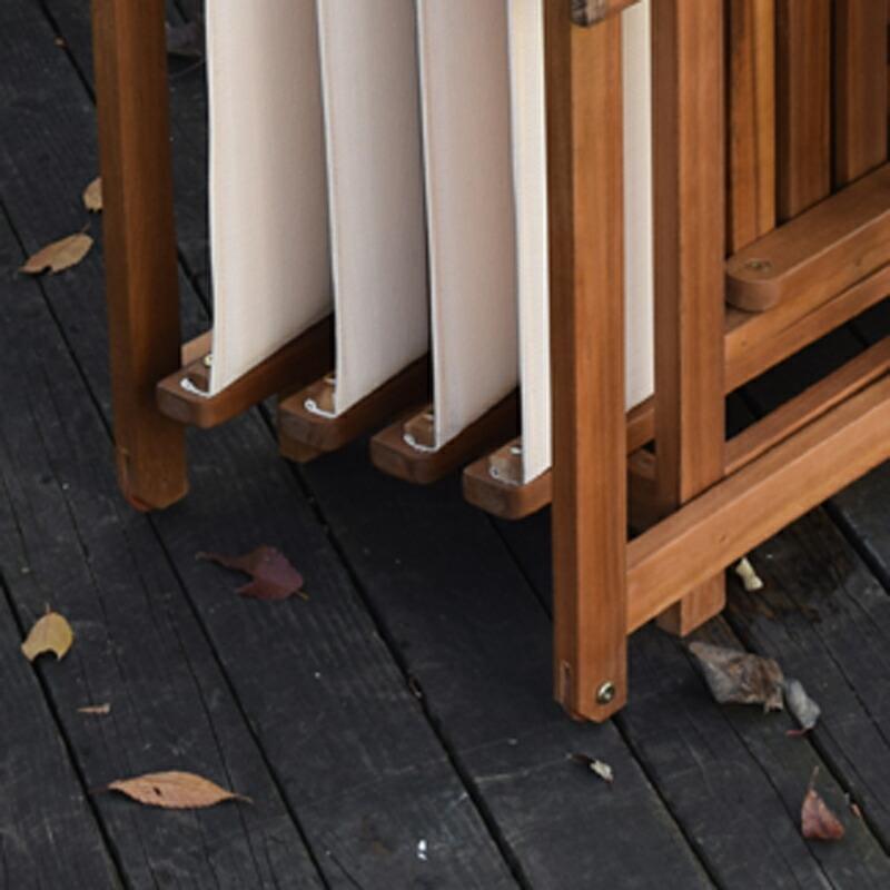 送料無料 ダイニング5点セット バタフライテーブル 折りたたみチェア ガーデンテーブル ガーデンチェア アウトドア アカシア おしゃれ