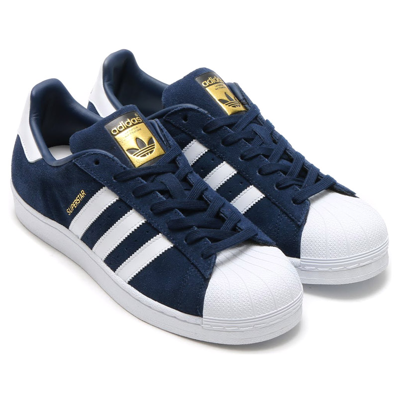 Adidas Superstar Suede Blue