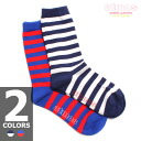 ATMOS SOCKS STRIPE CREW LADIES 2-color