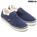 CROCS HOVER ATMOS FLEECE SLIP-ON NAVY/WHITE