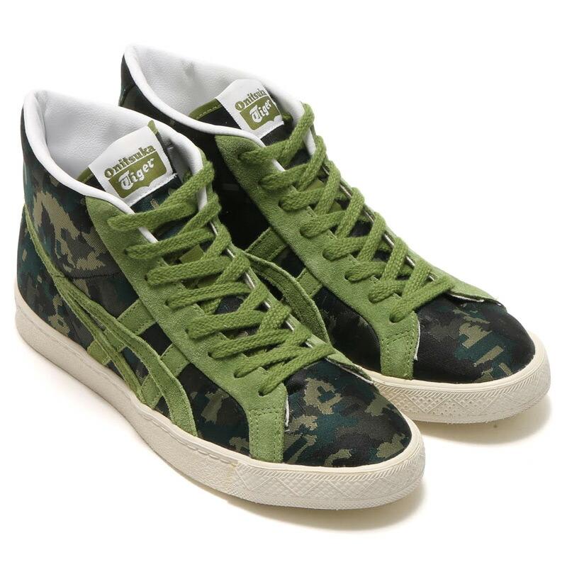 basket tiger asics green