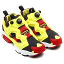 "Reebok INSTA PUMP FURY OG ""CITRON"" BLACK/HYPER GREEN/RBK RED/WHITE"