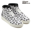 UBIQ FATIMA MICKEY CVS WHITE/BLACK