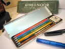 Kohinoor KOH-I-NOOR 2 mm core holder 6 colors set the Diamond Drawing Pencils
