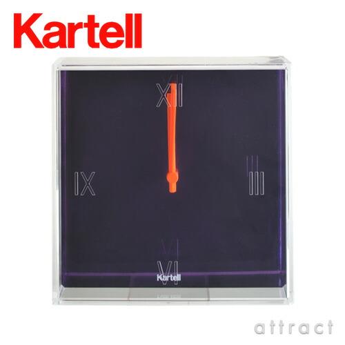 Kartell カルテル Tic&Tac ティック&タック ウィールクロック(TIC-1900)