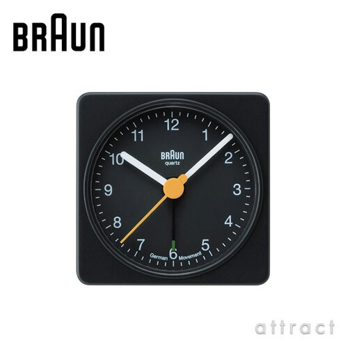 BRAUN ブラウン Radio Clock アラームクロック(BNC002)