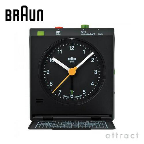 BRAUN ブラウン Radio Clock トラベルアラームクロック(BNC005)