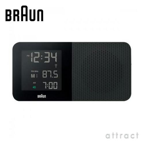 BRAUN ブラウン Radio Clock ラジオクロック(BNC010)