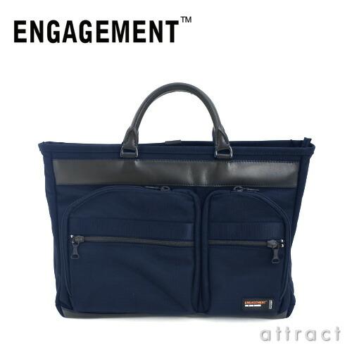 ENGAGEMENT エンゲージメント エンゲージド・ナイロン トートブリーフケース キャリーセットアップ対応(EGBF-006)