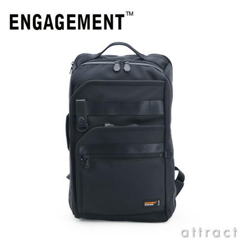 ENGAGEMENT エンゲージメント エンゲージド・ナイロン バックパック(EGBP-001)