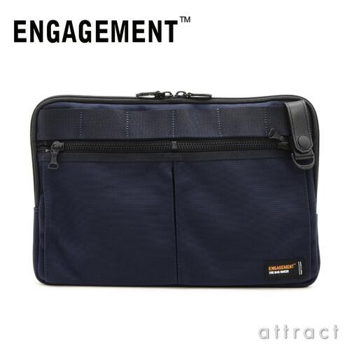 ENGAGEMENT エンゲージメント エンゲージド・ナイロン ドキュメントケース クラッチバッグ(EGCH-002)