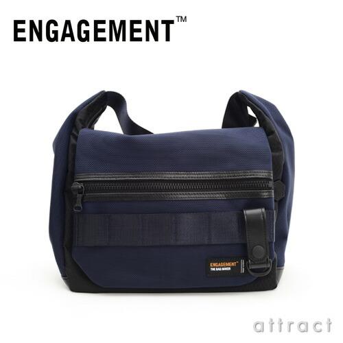 ENGAGEMENT エンゲージメント エンゲージド・ナイロン ショルダーバッグ Mサイズ(EGSB-002)