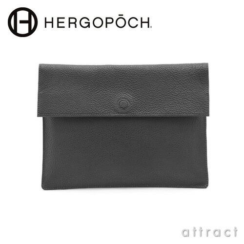 HERGOPOCH エルゴポック NO.11 Series Prime Grain Leather クラッチバッグ(11-ENV-S)