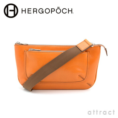 HERGOPOCH エルゴポック Glazed Leather クラッチショルダーバッグ(GL-CS)