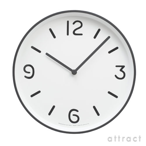 Lemnos レムノス MONO Clock Type A(Φ256mm)