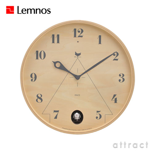 Lemnos レムノス PACE パーチェ(カッコー時計)