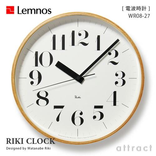 Lemnos レムノス Riki Clock リキクロック L(太字)