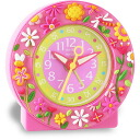 Baby watch /babywatch child service alarm clock kids clock pink garden