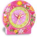 Baby watch /babywatch child service alarm clock kids clock pink garden