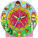 Baby watch /babywatch child service alarm clock kids clock horseback riding pink