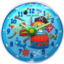 Wall hangings clock pirate kids clock for baby watch /babywatch nurseries