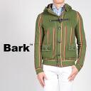 Bark ジャケットバークダブルストライプコットンフーテッドバルスターブルゾン REGIMENTAL HOODED VALSTAR JACKET olive-green 41b8023-310