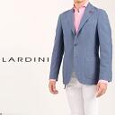 802 ラルディーニ /LARDINI/ ラルディーニジャケットガーメントダイコットン & linen hop case light blue PS319AQ PSR42207 boutonniere