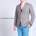 Three LARDINI ラルディーニジャケットシルク blend button jacket glen check x レッドウィンドペーンチェック PS32526AQ PSA42857 85