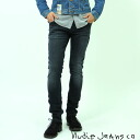 """""""Nudie jeans: Nudie Jeans TIGHT LONG JOHN タイトロング John power stretch Org. Black And Grey スーパーストレッチスリム jeans fs2gm"""