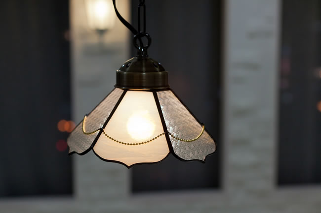 ステンドグラス 照明
