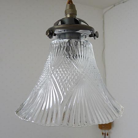 1灯 ガラス ペンダント ライト FLARE フレア