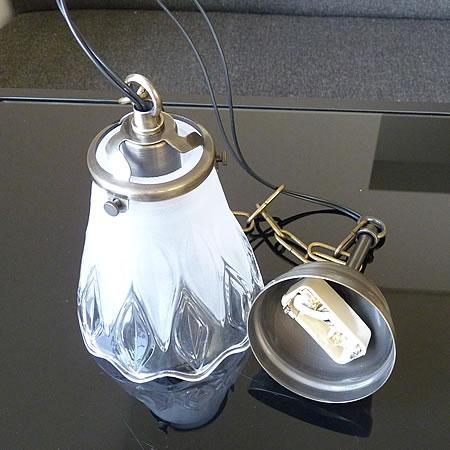 1灯 ガラス ペンダント ライト LJUPE ジュペ