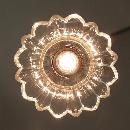 1灯 ガラス ペンダント ライト CALLA カラー