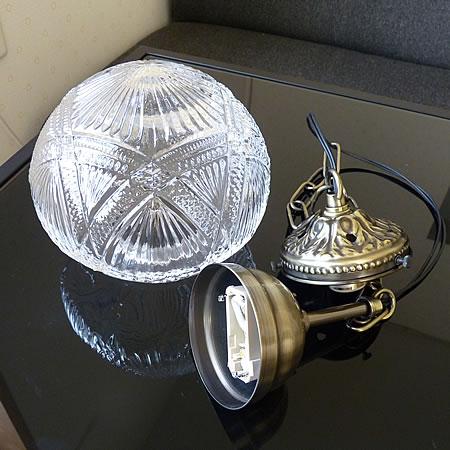 1灯 ガラス ペンダント ライト CEBOLLA セボージャ