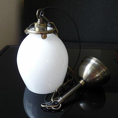 1灯 ガラス ペンダント ライト ESPUMA エスプーマ