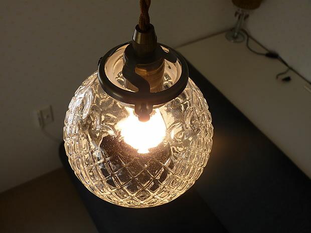 1灯 ガラス ペンダント ライト ARROZ アロス