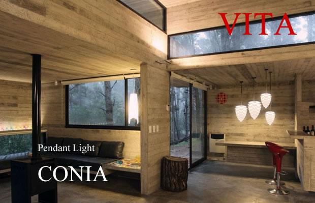 3灯ペンダントライト SILVIA シルビア VITAシリーズ 北欧 デンマーク