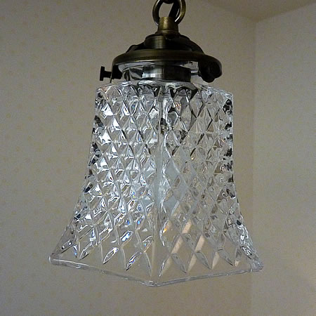 1灯 ガラス ペンダント ライト AQUA アクア
