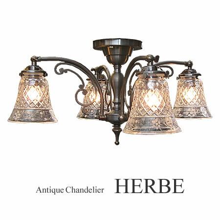 4灯 HERBE エルブ【CP-1204A-006】