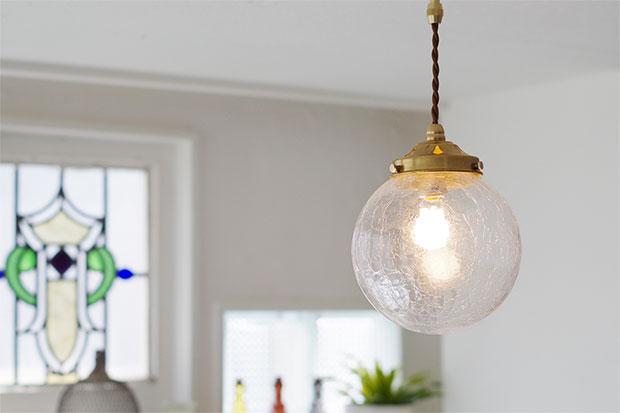 1灯 ガラス ペンダント ライト SPEND スペンド