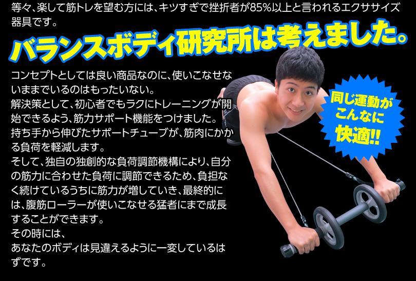 腹筋ローラーと同じ運動が快適に!