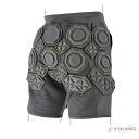Guard perfect cyborg protector short pants CYBORG 009 HD SHORT PANTS right asymmetry protection エアモート pads