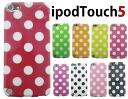 ◆ IPod touch 5 제 5 세대 전용 실리콘 케이스/아이 포드 터치 ◆ 물방울 무늬 (도트/DOT) TPU 케이스 각 색 (5053) case/케-스