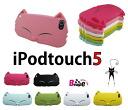 ● Apple ○ iPod touch5 케이스/5 세대 전용 실리콘 케이스 ○ 고양이 실리콘 케이스 커버/case/케-스 고양이/캣 5063
